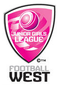 Football West Junior Girls League Logo