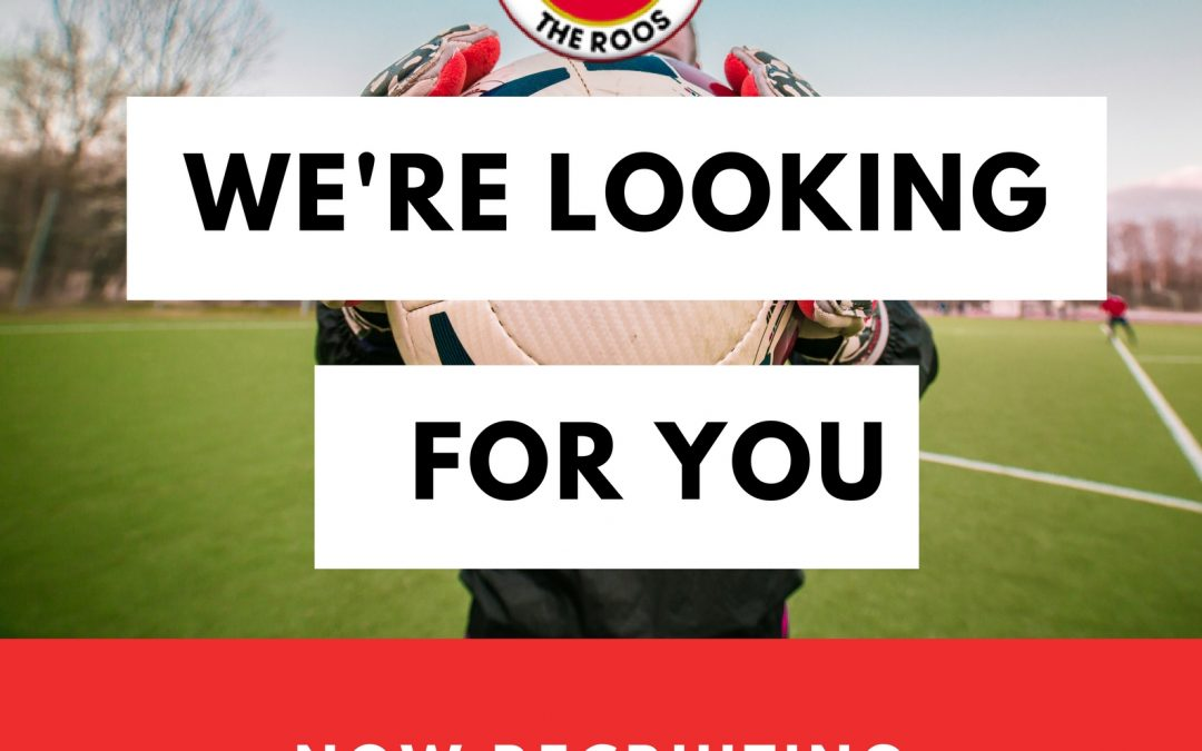 Goalkeeping Coach – REQUIRED