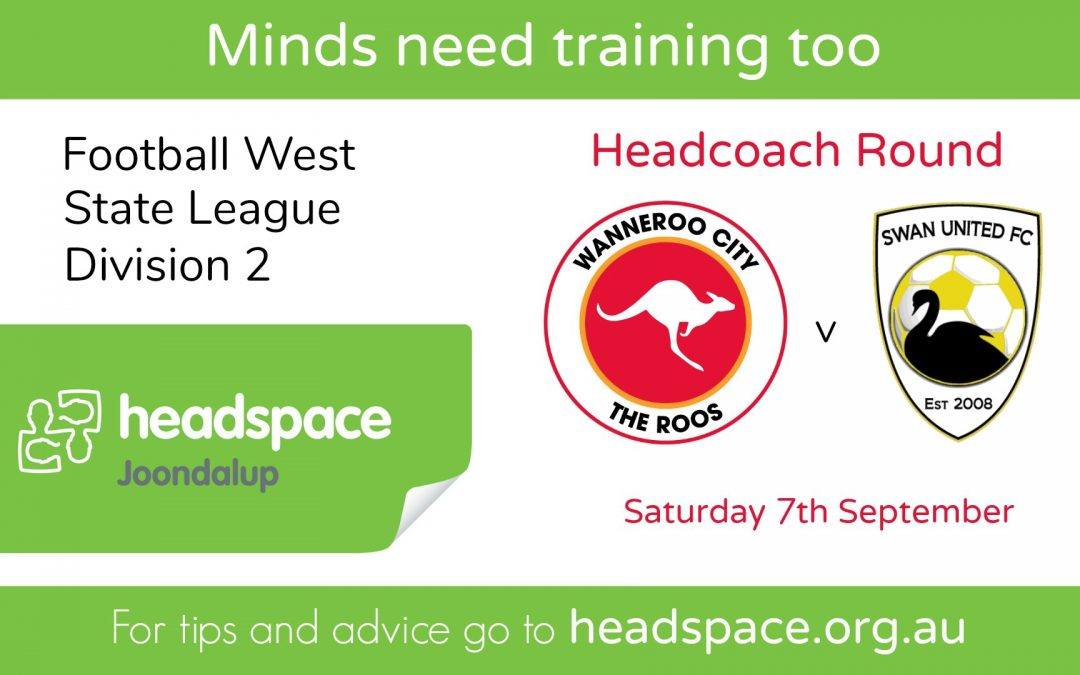 Headcoach Round This Saturday